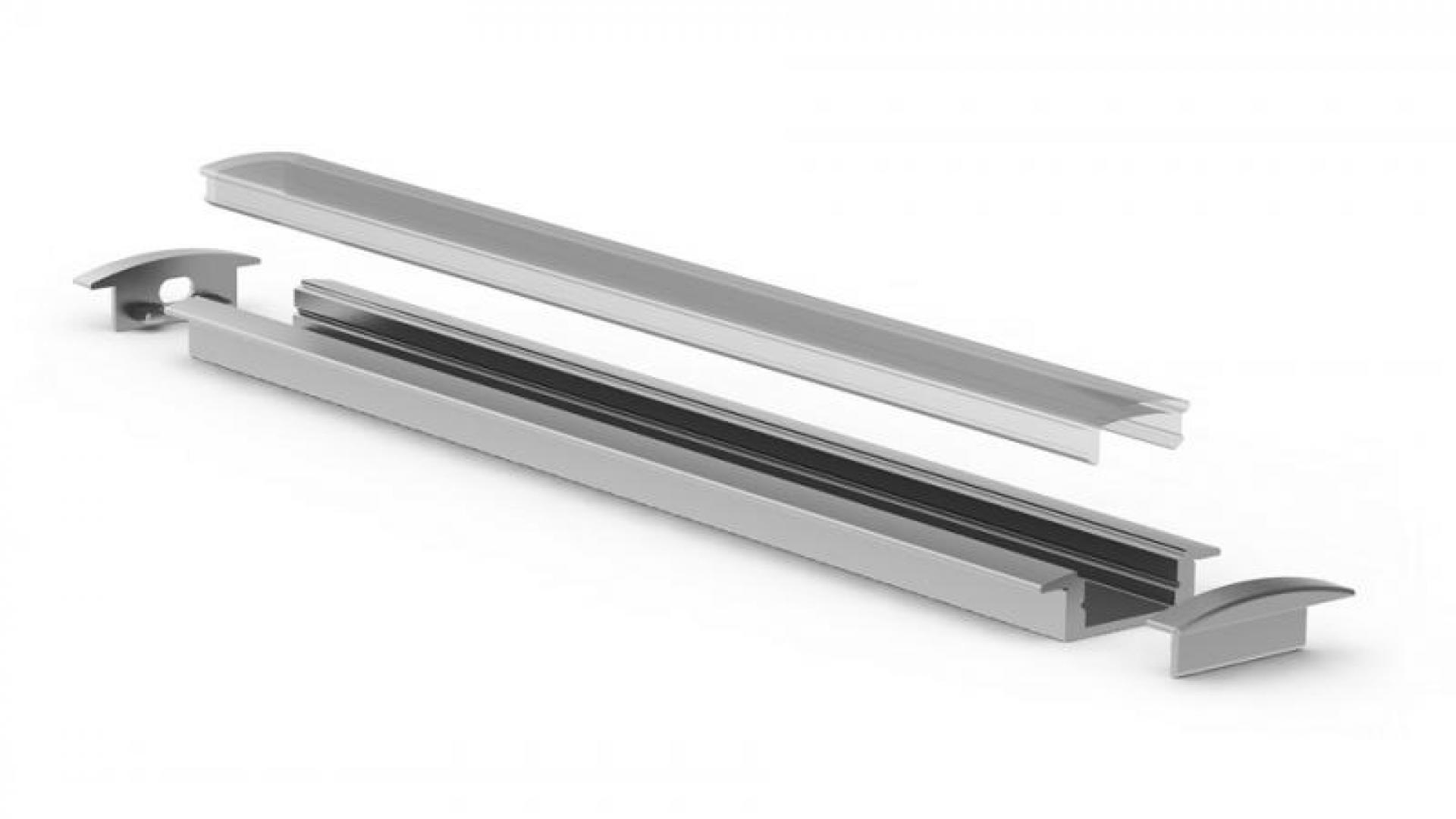 Uitzonderlijk LED-strip buiten monteren door middel van LED-strip profielen MI46
