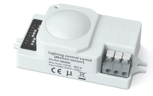 licht en bewegingssensor voor led verlichting 100w