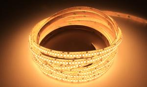 LuxaLight Long Life LED Strip Warm Wit Beschermd (24 Volt, 240 Leds, 2835, IP64)
