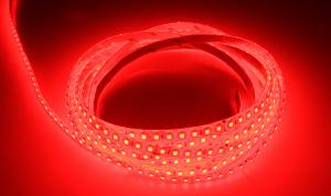 LuxaLight Long Life LED-strip Red Protected (24 Volt, 140 LEDs, 2835, IP64)