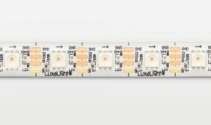 LuxaLight Long Life LED-strip WS2812  12V Digital SPI RGB Protected High Power (12 Volt, 60 LEDs, 5050, IP64)
