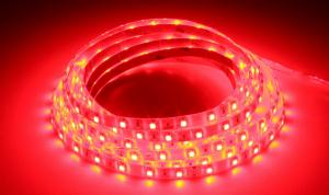 LuxaLight Long Life LED-strip Red Protected (12 Volt, 60 LEDs, 3528, IP64)