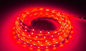 LuxaLight Long Life LED Strip Rood Indoor (12 Volt, 60 LEDs, 3528, IP20)