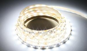 LuxaLight Long Life LED Strip White Indoor (12 Volt, 60 Leds, 3528, IP20)