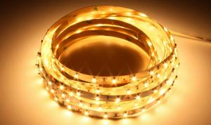 LuxaLight Long Life LED-strip Warm White 2400K Indoor (12 Volt, 60 LEDs, 3528, IP20)