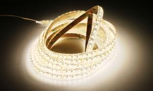 LuxaLight Long Life LED Strip Warm White - Cool White Color Temperature Protected (24 Volt, 240 LEDs, 3527, IP64)
