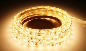 LuxaLight Long Life LED Strip Warm Wit Beschermd (12 Volt, 60 Leds, 3528, IP64)
