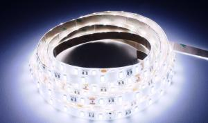 LuxaLight Long Life LED-strip Cool White 8000K Protected High Power 5630 (24 Volt, 60 LEDs, 5630, IP64)