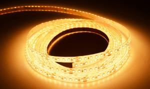 LuxaLight Long Life LED Strip Warm Wit Beschermd (24 Volt, 120 Leds, 2835, IP64)