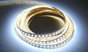 LuxaLight Long Life LED-strip Cool White 7800K Indoor (24 Volt, 120 LEDs, 2835, IP20)
