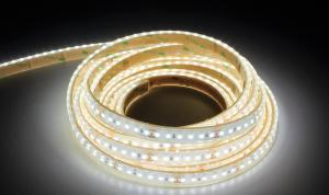 LuxaLight Long Life LED-strip Neutral White 4700K Waterproof (24 Volt, 120 LEDs, 2835, IP68)