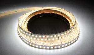 Luxalight Long Life LED Strip White Indoor (24 Volt, 120 Leds, 2835, IP20)