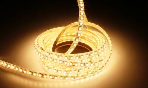 LuxaLight Long Life LED Strip Warm Wit Beschermd (24 Volt, 120 Leds, 3528, IP64)