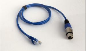 DMX-512 cable, XLR Female Socket / RJ45 Con.