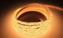 LuxaLight Long Life LED-strip Warm White 2400K Protected (24 Volt, 240 LEDs, 2835, IP64)
