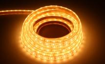LuxaLight Long Life LED-strip Warm White 2500K Waterproof (12 Volt, 60 LEDs, 2835, IP68)