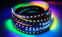 LuxaLight Long Life LED-strip WS2812 12V Digital SPI RGB Indoor High Power (12 Volt, 96 LEDs, 5050, IP20)