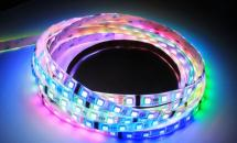 LuxaLight Long Life LED-strip Full-color Protected DMX512 (24 Volt, 60 LEDs, 5050, IP64)