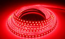 LuxaLight Long Life LED-strip Red Protected (30 Volt, 120 LEDs, 3528, IP64)