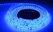 LuxaLight Long Life LED-strip Blue Protected 140 LEDs (24 Volt, 140 LEDs, 2835, IP64)