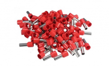 Ferrules Red 1.0mm2, bag 50 pieces