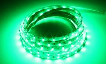 LuxaLight Long Life LED Strip Groen Indoor (12 Volt, 60 Leds, 3528, IP20)