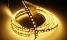 LuxaLight Long Life LED-strip Warm White 3000K Indoor (30 Volt, 120 LEDs, 3528, IP20)