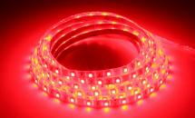 LuxaLight Long Life LED Strip Red Protected (12 Volt, 60 Leds, 3528, IP64)