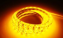LuxaLight Long Life LED-strip Yellow Protected (12 Volt, 60 LEDs, 3528, IP64)