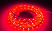 LuxaLight Long Life LED-strip Red Indoor (12 Volt, 60 LEDs, 3528, IP20)
