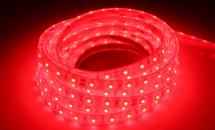 LuxaLight Long Life LED Strip Rood Waterdicht (12 Volt, 60 Leds, 3528, IP68)