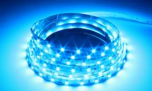 LuxaLight Long Life LED Strip Blauw Indoor (12 Volt, 60 Leds, 3528, IP20)