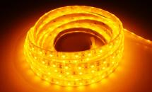 LuxaLight Long Life LED-strip Yellow Waterproof (12 Volt, 60 LEDs, 3528, IP68)