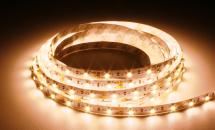 LuxaLight Long Life LED-strip Warm White Pink Accent 3100K Indoor (12 Volt, 60 LEDs, 3528, IP20)