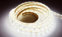 LuxaLight Long Life LED Strip Neutraal Wit Waterdicht (24 Volt, 60 Leds, 3528, IP68)