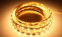 LuxaLight Long Life LED-strip Warm Wit 2400K Indoor (12 Volt, 60 LEDs, 3528, IP20)