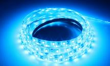 LuxaLight Long Life LED-strip Blue Protected (12 Volt, 60 LEDs, 3528, IP64)