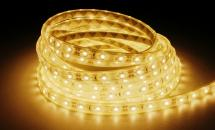 LuxaLight Long Life LED Strip Warm Wit Waterdicht (12 Volt, 60 Leds, 3528, IP68)