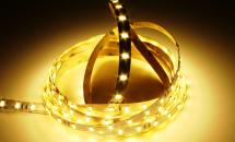 LuxaLight Long Life LED-strip Warm White 2600K Indoor High Power 5630  (24 Volt, 60 LEDs, 5630, IP20)