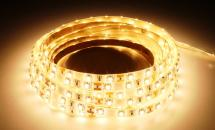 LuxaLight Long Life LED-strip Warm White 2600K Protected (12 Volt, 60 LEDs, 3528, IP64)