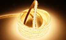 LuxaLight Long Life LED-strip Warm White 2600K Protected (24 Volt, 240 LEDs, 3528, IP64)