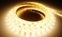 LuxaLight Long Life LED-strip Warm White 3600K Protected High Power 5630  (24 Volt, 60 LEDs, 5630, IP64)
