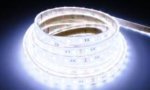 LuxaLight Long Life LED-strip Cool White 8000K Waterproof High Power 5630  (24 Volt, 60 LEDs, 5630, IP68)