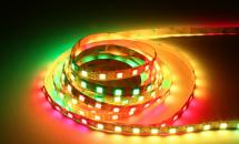 LuxaLight Long Life LED-strip WS2812 12V Digital SPI RGB Indoor High Power (12 Volt, 60 LEDs, 5050, IP20)