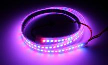 LuxaLight Long Life LED-strip WS2812B Digital SPI RGB Waterproof High Power (5 Volt, 144 LEDs, 5050, IP68)