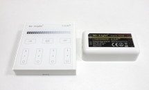 Wireless control panel (tempered glas) 4-zone with controller for LED-strip