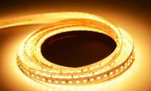 LuxaLight Long Life LED-strip Warm White 2400K Indoor (24 Volt, 120 LEDs, 2835, IP20)