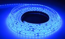 LuxaLight Long Life LED-strip Blue Protected (24 Volt, 120 LEDs, 2835, IP64)
