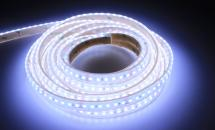 LuxaLight Long Life LED-strip Cool White 8000K Waterproof  (24 Volt, 120 LEDs, 2835, IP68)