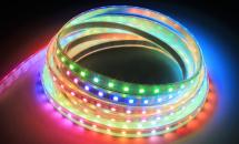 LuxaLight Long Life LED-strip WS2812B Digital SPI RGB High Power Waterproof (5 Volt, 60 LEDs, 5050, IP68)